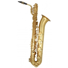 Trevor James Horn Classic II Baritone Sax Outfit - Gold Lacquer