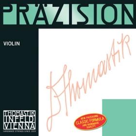 Precision Violin String G. Steel Core, Silver 1/2