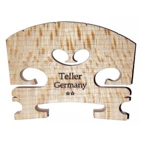 Violin Bridge - Aubert Model. Shaped and Fitted. 1/2