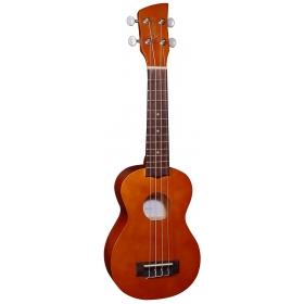 Brunswick Soprano Ukulele Natural Satin - Aquila Strings