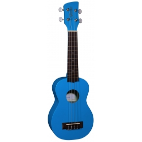 Brunswick Soprano Ukulele Blue Satin - Aquila Strings