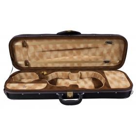 Hidersine Violin Case Pianura Oblong 4/4 - Black