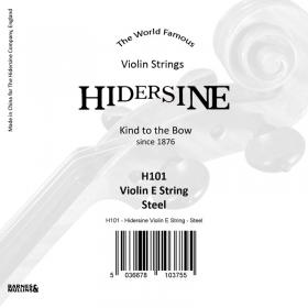Hidersine Violin String E Steel