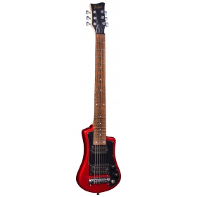 Hofner HCT Shorty Guitar Deluxe - Red