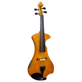 Hidersine Electric Violin Outfit - Flamed Maple Veneer