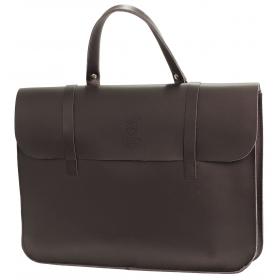 Montford Leather Music Case - Black