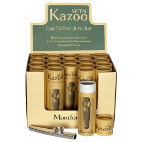 Montford Metal Kazoo - 20 pieces