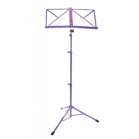 TGI Music Stand in Bag. Purple