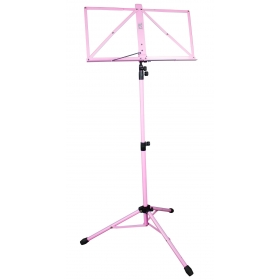 TGI Music Stand in Bag. Pink