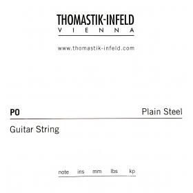 Thomastik Plain Guitar String 0.009 Brass Plated