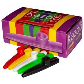 Montford Plastic Kazoo - 24 pieces - Various Colours