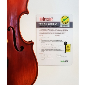 Hidersine Point of Sale - Vivente Academy Perspex Card