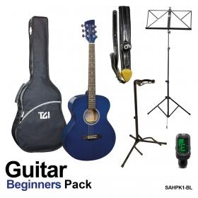 Brunswick Guitar Pack Blue