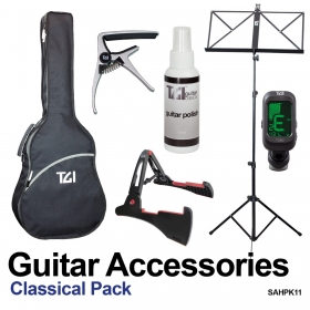 classical guitar accessory pack