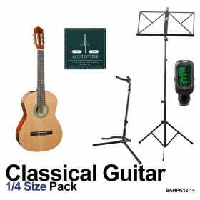 quarter size classical guitar pack for kids