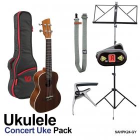 Ukulele Concert pack