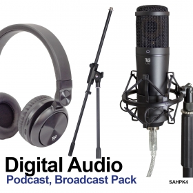 Digital Audio pack for podcasters