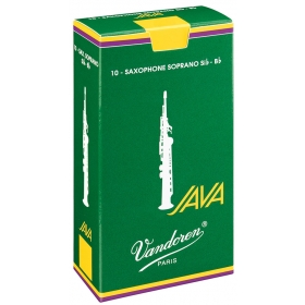 Vandoren Soprano Sax Reeds 2.5 Java (10 BOX)