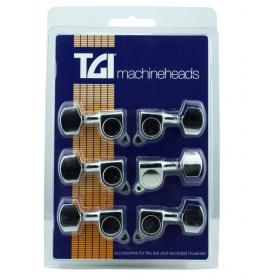 TGI Machineheads. Electric 3 a Side. M6 Style. Chrome.