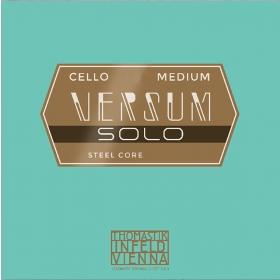 Versum Solo Cello String C (Spiral Core Tungsten - Chrome Wound)