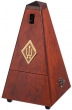 Wittner Metronome. Wooden. Mahogany Colour. With Bell