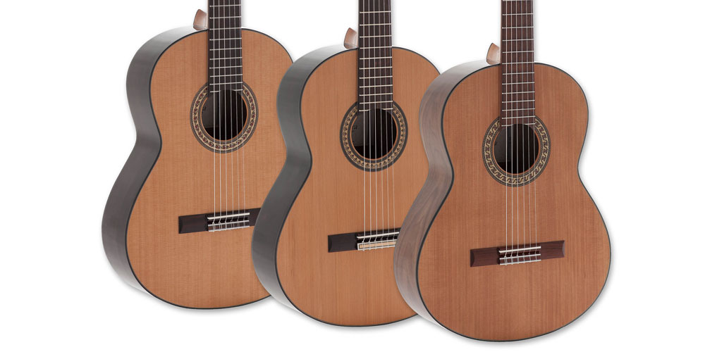 Admira Guitars release new Handcrafted Series classical guitars in the UK.