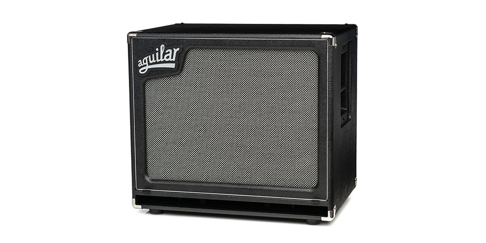 New Aguilar Amplification SL115 bass cabinet lands in the UK.