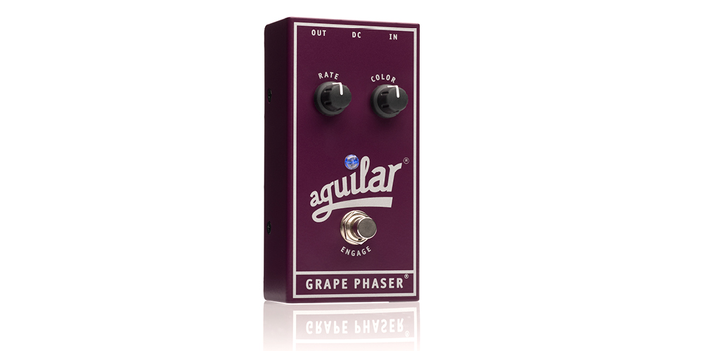 NAMM 2018: Aguilar Amplification announces the Grape Phaser® bass phase pedal.