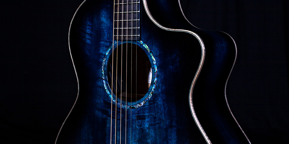 Faith Guitars release Solid Mango, super-exotic Blue-Moon model