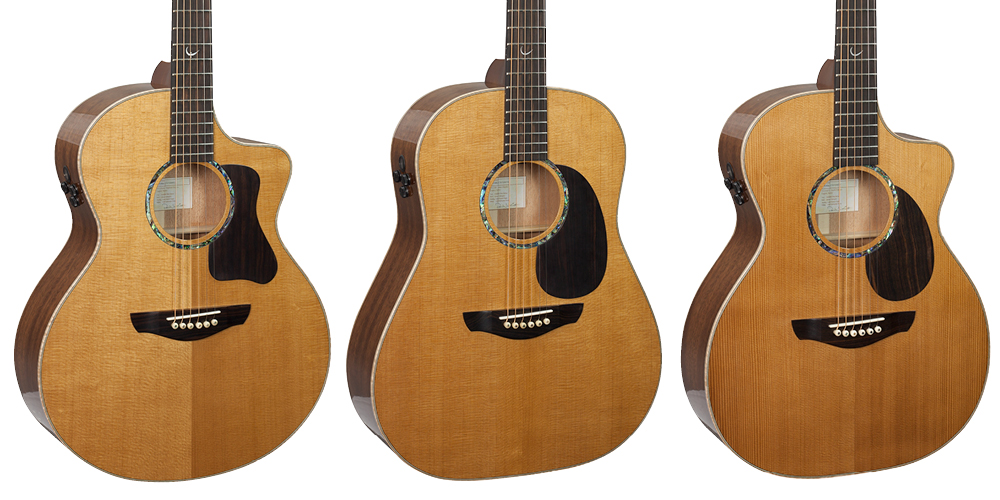 Faith Guitars launch new PJE Legacy Series guitars.