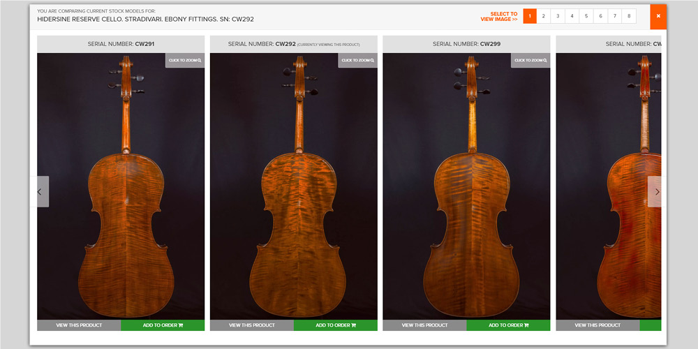 Choosing handmade bowed instruments just got easier