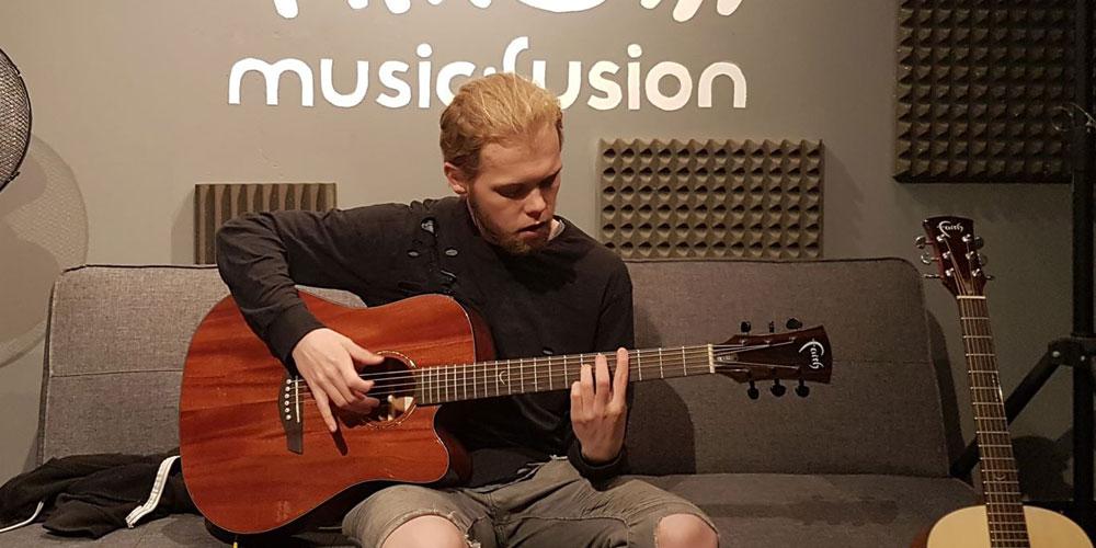 Faith Guitars donated to Music Fusion Charity