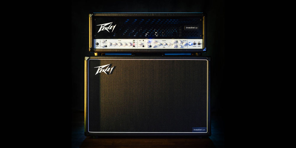 Peavey invective™ .120 guitar amplifier lands in the UK.