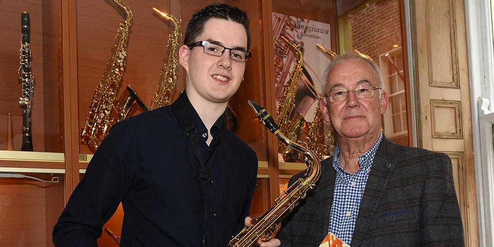Yanagisawa Saxophones UK welcome saxophonist Robert Finegan to their artist roster.