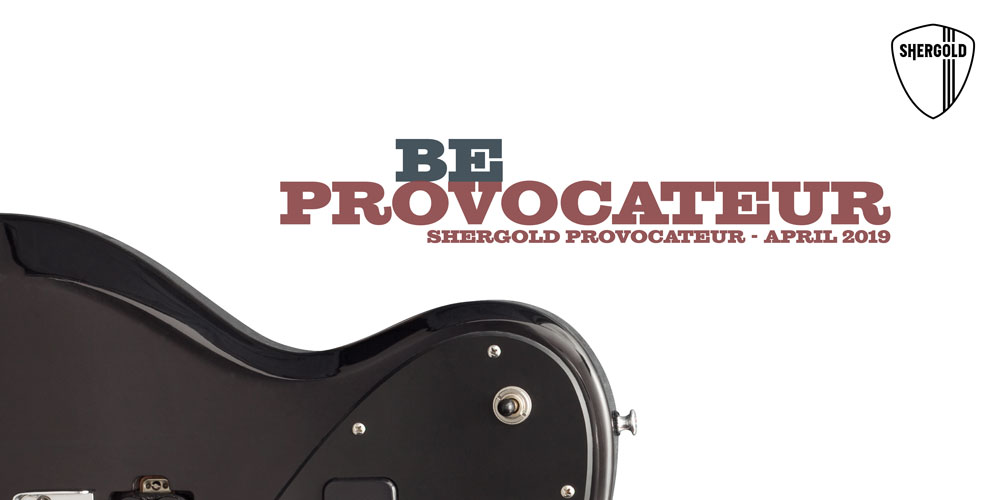 Shergold Guitars offer exclusive first look at new 'Provocateur' guitars.