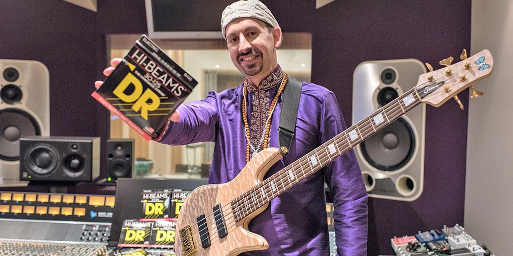 Shez Raja joins DR Strings.