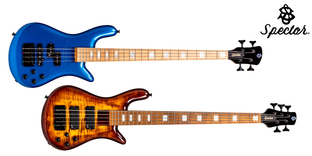 New Spector Euro LT and Euro Bolt models land in the UK.