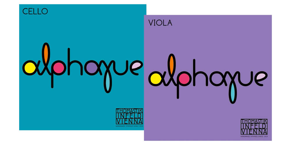 Thomastik-Infeld 'Alphayue' Viola and Cello strings land in the UK.