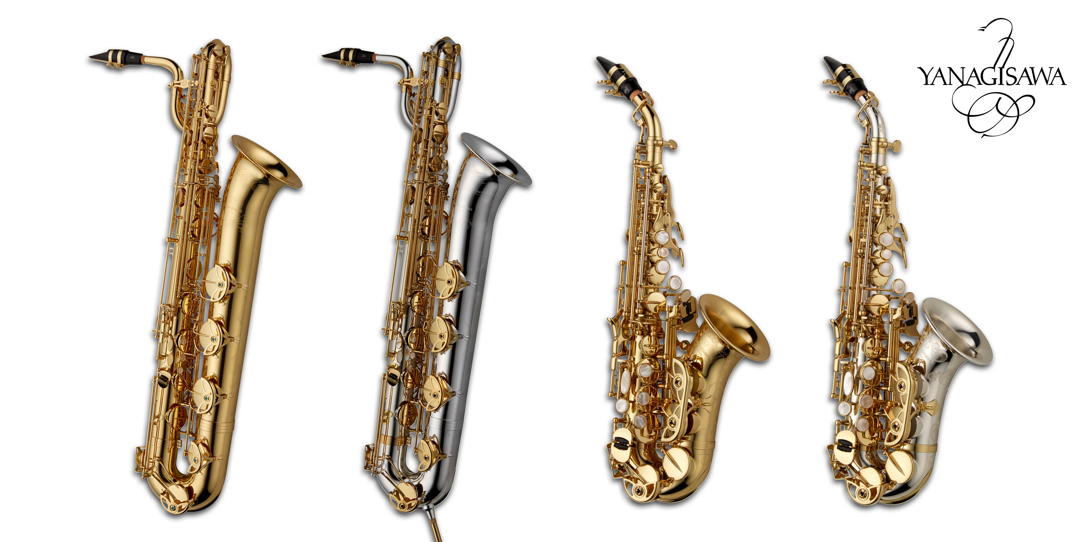 Yanagisawa Saxophones launch new WO Series Baritone and Curved Soprano instruments in the UK.