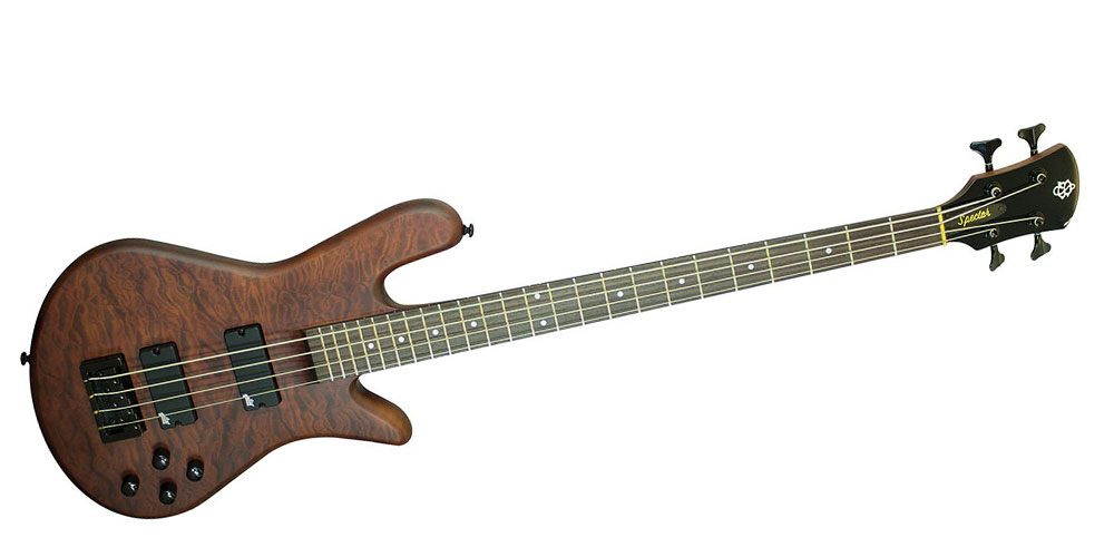 Spector Legend 4 Walnut Stain review - Music Radar