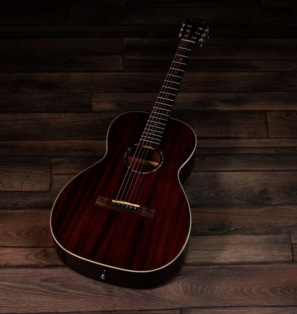 Rathbone Guitars No.6 Parlour Mahogany R6M