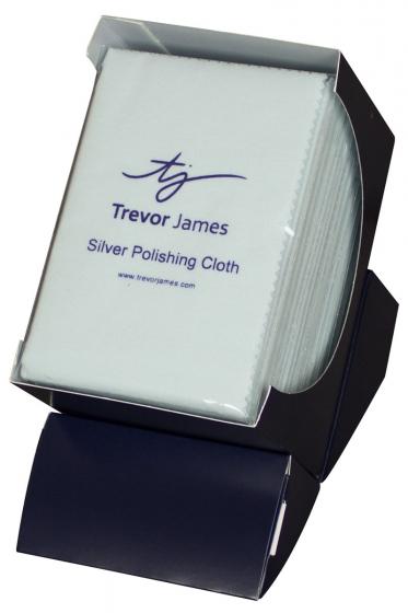 Trevor James Silver Polish Cloth