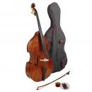 Hidersine Vivente 3/4 Double Bass Outfit