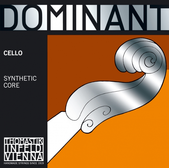 Dominant Cello String D. Chrome Wound. 3/4