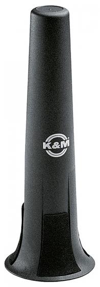 K&M Soprano Saxophone Peg Black