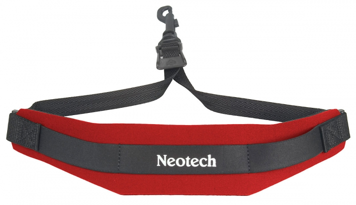 Neotech Soft Sax Strap Red Regular - Swivel Hook