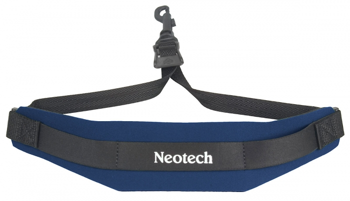 Neotech Soft Sax Strap Navy Regular - Swivel Hook