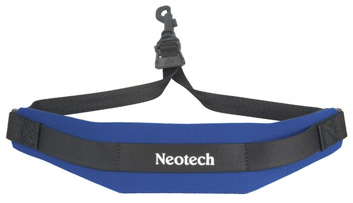 Neotech Soft Sax Strap Royal Blue Regular - Swivel Hook