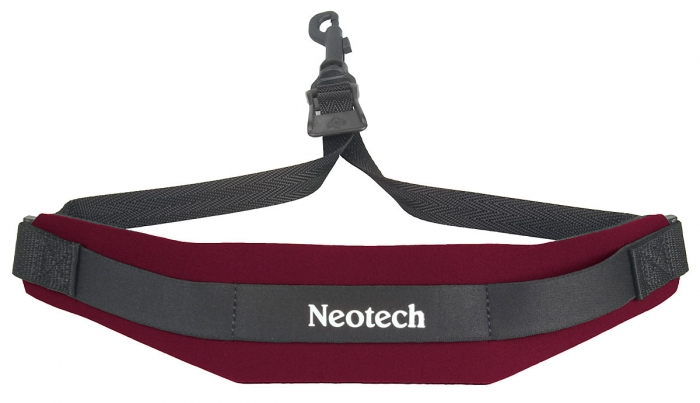 Neotech Soft Sax Strap Wine Regular - Swivel Hook