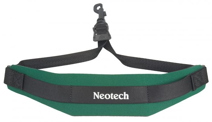 Neotech Soft Sax Strap Forest Green Regular - Swivel Hook